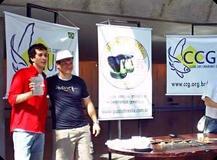 Michel Bruno & Rodrigo Ziviani (fundador e ex-presidente da CCG-UCAB)