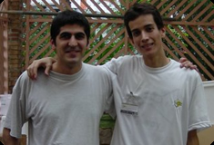 Ömer Gülmez (fundador e ex-presidente da WGA) & Michel Bruno
